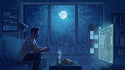 Lofi Lo Fi Anime Backgrounds Chill Wallpapers