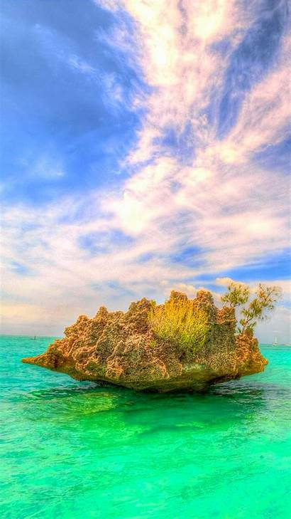 Iphone Mauritius Crystal Rock Wallpapers Pro Max
