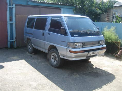 Mitsubishi L300 Picture by 1991 Mitsubishi L300 Pictures 2 5l Diesel Manual For Sale