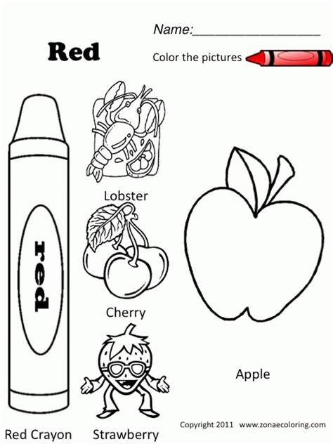 red coloring pages printable coloring home