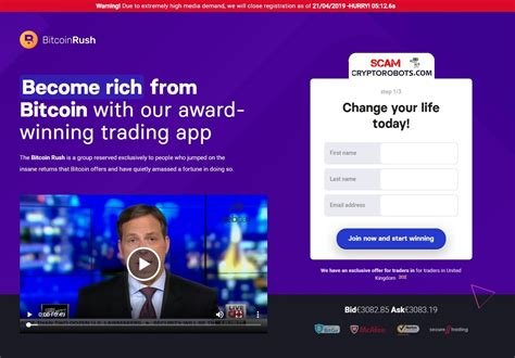 An unbiased research to prove bitcoin is scam and fraud. Bitcoin Rush Review, SCAM App Exposed! | Scam Crypto Robots