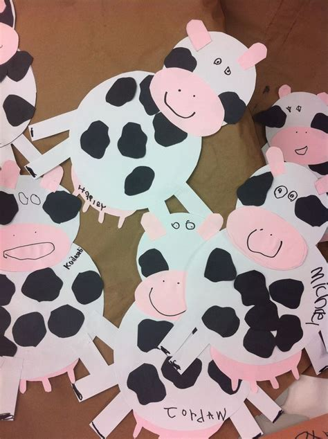 cow craft my preschool classroom cow 881 | 9cd31151ccdb727aed06e98bb94cc15c cow craft farm unit