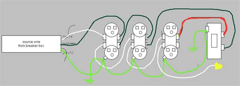 is this wiring diagram for a series of outlets correct home improvement stack exchange