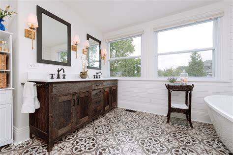 hyde park farmhouse bathroom remodel farmhouse