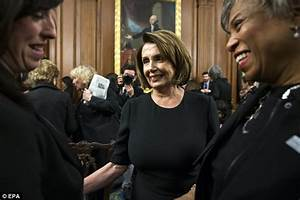 Pelosi: Don't walk out, keep attention on slobbering Trump