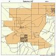 Salome Arizona Street Map 0462700