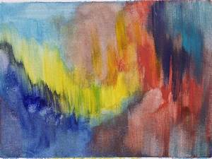 1600*1200 Abstract Paintings : Color field Painting on ...