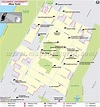 Columbia University Map with all the Colleges and Entire ...