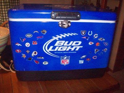 bud light chest brewery antique price guide