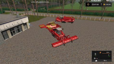 Speed Farming Simulator 2017 Mods Ls Mods 17 Grimme Maxron 620 High Capacity 4 1 X For Fs17 Farming