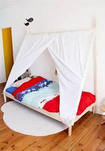 Tete De Lit Cabane : diy un lit tipi t te d 39 ange kidos kid beds childrens bedroom decor et diy bed ~ Melissatoandfro.com Idées de Décoration