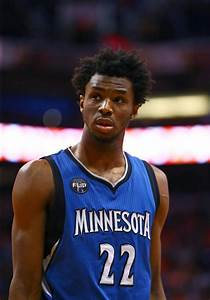 Andrew Wiggins is Bad at HORSE*, Thinks Wolves are Poised ...