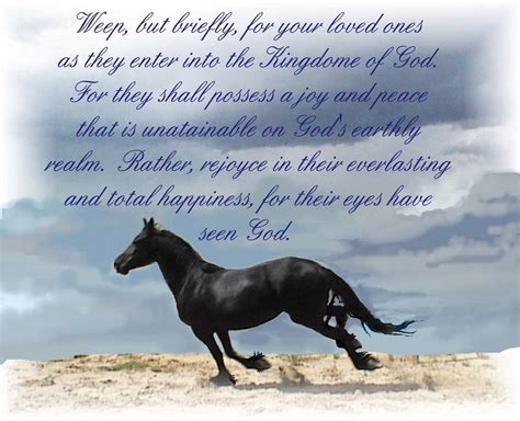 This is where music comes in, it's a way to channel our grief in a beautiful way. Free Sympathy Ecards For Loss Of Brother. Sorry About Your Loss Quotes | Inspirational horse ...