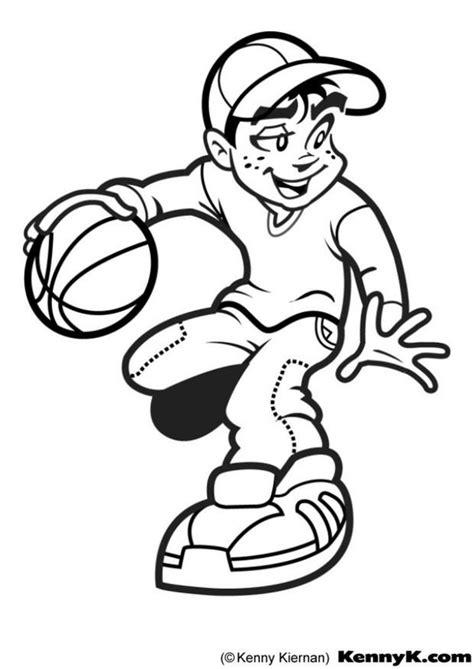 malarbild basketboll bild