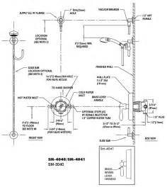 Bathtub Drain Lever Diagram by Shower Systems For Handicapped Or Mobility Impaired By
