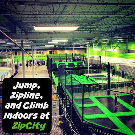 outdoor basketball hoop jump zipline and climb indoors at zipcity