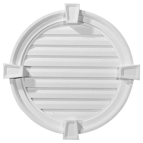 decorative gable vents nz ekena millwork 2 1 8 in x 22 in x 22 in decorative