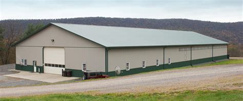 building a pole barn pole barns pole buildings timberline buildings hegins pa
