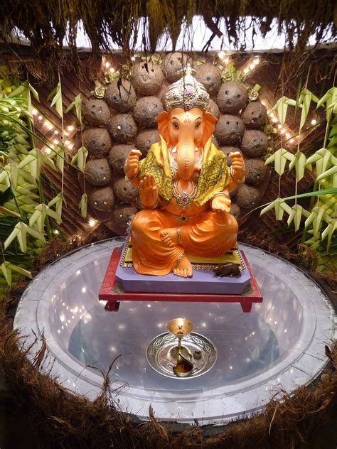 home ganpati decorations ideas pictures part