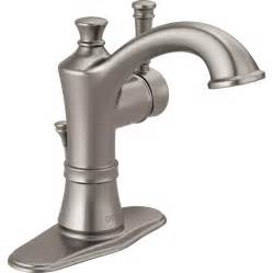 clean kitchen faucet shop delta valdosta spotshield brushed nickel 1 handle 4
