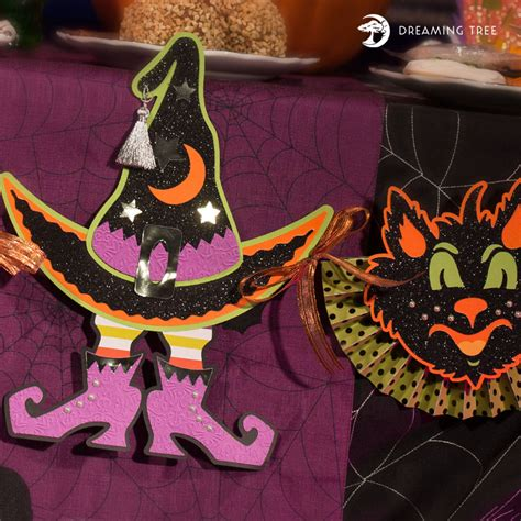 Ready in ai, svg, eps or psd. Halloween Banner SVG - Dreaming Tree