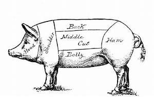 cure for the rainy day blues sausage making workshop with With pig butcher diagram