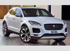 2018 Jaguar EPace Not an EV SUV, is first FWDAWD Jag