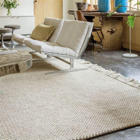 tapis moderne laine idees de decoration interieure