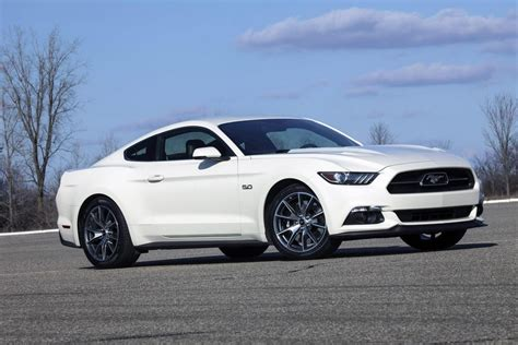 year ford mustang 2015 ford mustang 50 year limited edition revealed