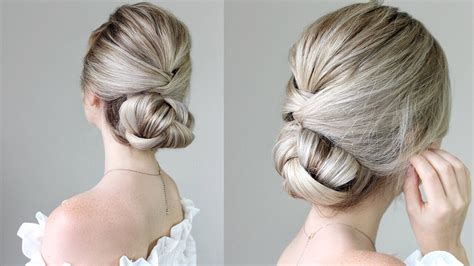 simple updo youtube