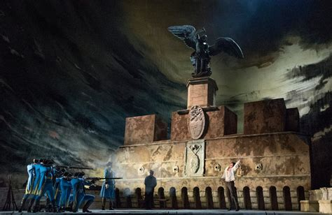 Review The Met Opera's 'tosca' Overcomes Months Of Chaos