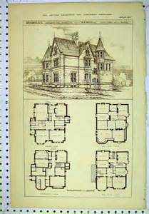 home blueprints vintage house plans home plans house design architecture