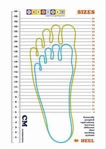 Shoe Chart Size Kid