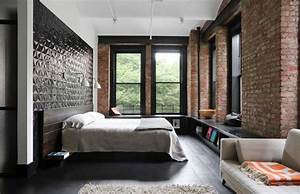 17, Incredible, Industrial, Bedroom, Interior, Designs, For, Your, Daily, Inspiration