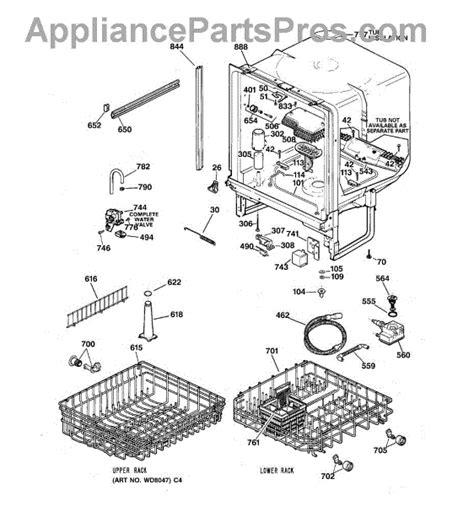 ge wdx heating element support bracket appliancepartsproscom