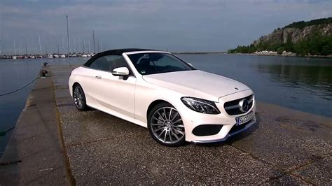 Mercedesbenz Cklasse Cabrio C 300 Youtube