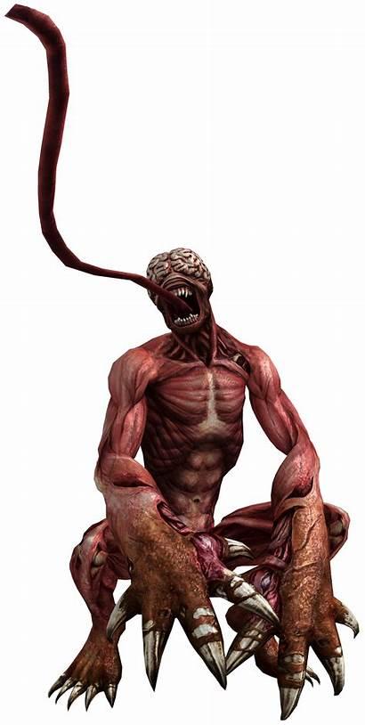 Resident Evil Licker Deviantart Nemesis Biohazard Wesker