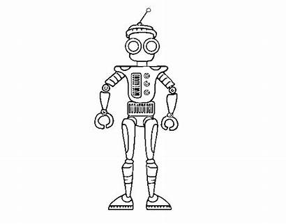 Android Coloring Coloringcrew Robots