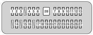 Toyota Tundra  2010  - Fuse Box Diagram