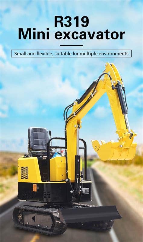rs mini crawler excavator