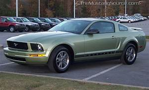 Legend Lime 2005 Mustang V6 - The Mustang Source