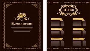 free menu design templates template ideas With cafe menu design template free download