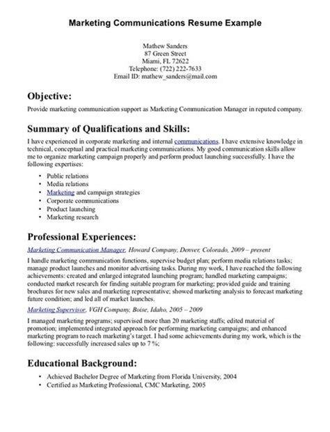 communication skills for resume http jobresumesle