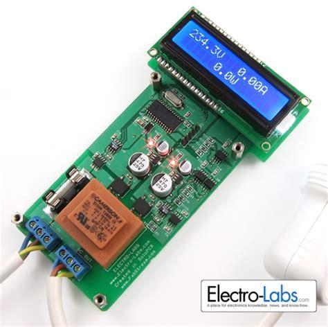 diy ac power meter using pic18f252 embedded lab