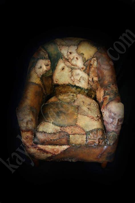 ed gein chair prop ed gein skin chair horror prop by kaylaarenafx