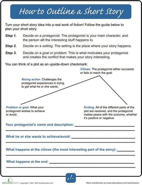 short story outline how to outline a story for beginners writers write