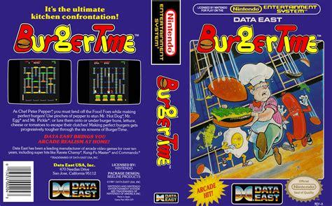 Burgertime Box Nintendo Times