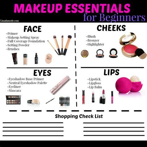 makeup essentials guide  beginners   girl