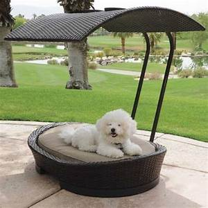 36 awesome dog beds for indoors and outdoors digsdigs With small outdoor dog bed