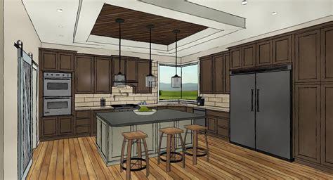 architectural kitchen designs chief architect x8 kitchen demonstation 1333